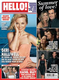 Issue 1240: Geri Halliwell on turning 40, looking for love and the Spice Girls' reunion