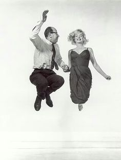 Marilyn Monroe and Philippe Halsman, 1959.