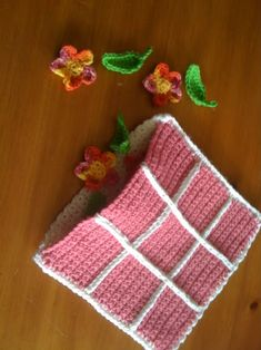 ADHD Crochet: Cute Easy Gift idea. Tic tac toe game in pouch