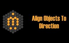 Align Objects to Direction allows you to align the X, Y or Z axis of each of the selected objects to the direction defined by two points in the scene. 3ds Max, Scripts, Objects