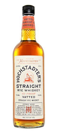 Best Whiskeys_Hochstadter Straight Rye