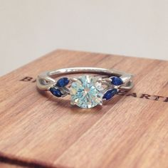 Because each love is unique. #EngagementRing