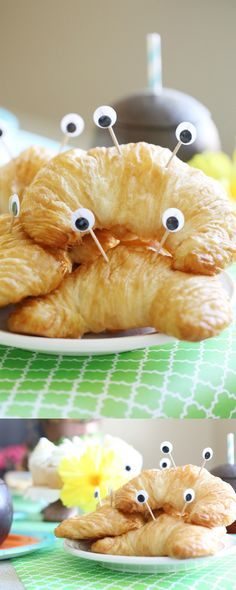 Disney Moana Birthday ~ replace toothpicks with pretzel sticks, edible eyes or candymelt diy them