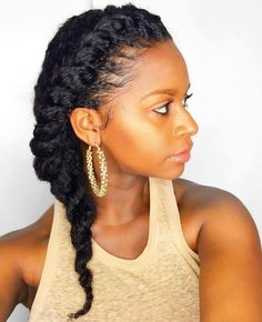 Side Twist For Natural Hair                                                                                                                                                                                 More