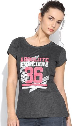 409a3e093473d Silly People  Graphic  Print  Women s  RoundNeck  T-Shirt  Indianfashion