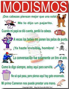 Modismos en español