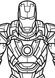 Fun Iron Man coloring pages for your little one. They are free and easy to print. The collection is varied with different skill levels Avengers Coloring Pages, Superhero Coloring Pages, Marvel Coloring, Adult Coloring, Coloring Books, Marvel Avengers, Marvel Art, Iron Man Drawing Easy, Avengers Drawings