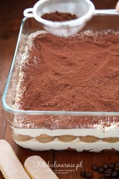 Italian Tiramisu, Dessert Recipes, Desserts, Feta, Sweets, Chocolate, Fruit, Cake, Ethnic Recipes