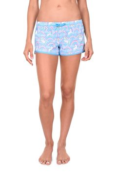 Women's Unicorn Beach Shorts
