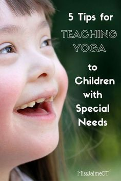 These tricks are so helpful in learning how to teach yoga to children. Perfect for a teacher or school based OT who is looking to improve attention, focus, balance, and strength in a special needs class.
