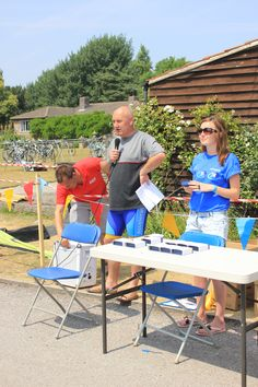 TRYathlon prize giving