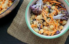 Recipe: Moroccan Carrot and Chickpea Salad with Dried Plums, Quinoa, and Toasted Cumin Vinaigrette