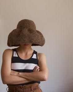 yokoo floppy hat in barley @55