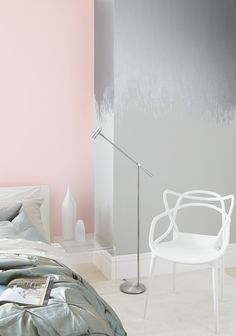 Inspired by our SS16 Shimmer trend, play with texture using our Sophistication Metallic paint to create an amazing feature wall.