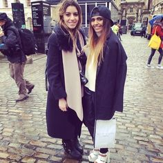 We spotted the beautiful @Kavita at #LFW last week! Our intern is wearing the Chelsea Girl scarf from our AW14 collection :) #fashion #alexiafashion #blogger
