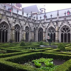 Binnentuin Domkerk, Utrecht-The. Netherlands