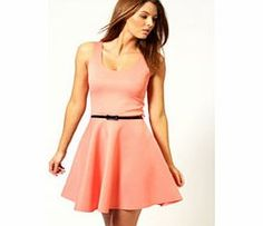 boohoo Maya Scoop Neck Skater Dress - coral azz46907 Whether it's sugary show-stoppers or monochrome midis, we've got need-right-now night out dresses nailed. Bodycon dresses turn to tomboy textures with killer quilting, shift dresses get sporty with su http://www.comparestoreprices.co.uk/dresses/boohoo-maya-scoop-neck-skater-dress--coral-azz46907.asp