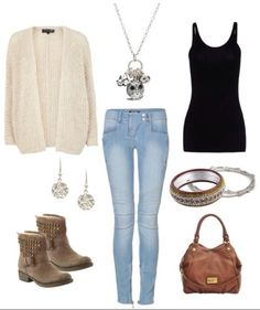 This outfit is great for... Just about anything really. Cute, comfy...