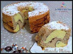 CHIFFON CAKE GIRAFFA AL CAFFÈ E CACAO, UNA NUVOLA DI BONTÀ! Poke Cakes, Lava Cakes, Torta Chiffon, American Cake, Custard Cake, Angel Cake, Gingerbread Cake, Best Italian Recipes, Fudge Cake