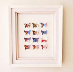 Butterfly artwork kit  Paper Tree Design