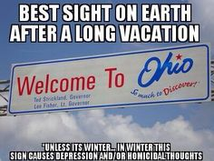 """Or at the start of one for us """"Buckeyes in exile"""" :)"""