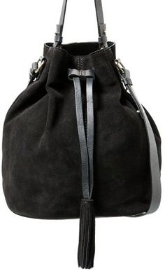 Pin for Later: 40 Budget-Friendly Bucket Bags Under £50 MANGO Leather Bucket Bag Mango Leather Bucket Bag (£50)