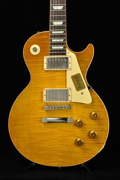 Gibson Custom Shop 2015 True Historic 1959 Les Paul Reissue Vintage Lemon Burst 【S/N 9 5321】