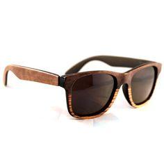 f72ceec79597 Tumbleweeds Two Tone Wayfarer sunglasses just bought on  fab. Wooden  Sunglasses