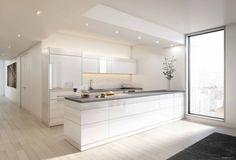 Kitchen & white.