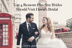 {Fashion Friday} Top 4 Reasons Plus Size Brides Should Visit David's Bridal | Pretty Pear Bride