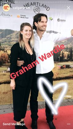 Congratulations To Graham And Alison On Their Marriage