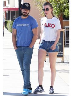End of the world for some Shia LaBeouf fans: Hunk is engaged...: End of the world for some Shia LaBeouf fans: Hunk is engaged… #MiaGoth