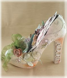 sue smyth: Altered Shoe
