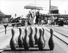 Rooftop Bowling, Hollywood, 1929. L.A. Public Library Photo Collection :: L.A. Is My Beat