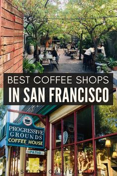 Where to find the best coffee in San Francisco California USA: Your full guide to finding the best of cute cafes in San Francisco and cosy SF coffee shops you won't want to miss on your next visit to California, USA San Francisco Cafe, San Francisco Shopping, San Francisco Travel, San Francisco California, Coffee San Francisco, San Francisco Quotes, Moving To San Francisco, New Orleans, New York