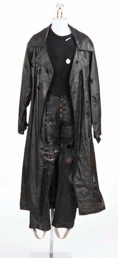 Brandon Lee hero costume from The Crow
