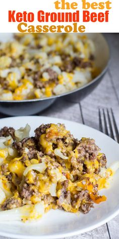 The best keto ground beef casserole The best keto beef . - The best keto ground beef casserole The best keto ground beef casserole, - Gourmet Recipes, Low Carb Recipes, Cooking Recipes, Healthy Recipes, Low Carb Hamburger Recipes, Sauce Recipes, Easy Recipes, Chicken Recipes, Receitas Crockpot