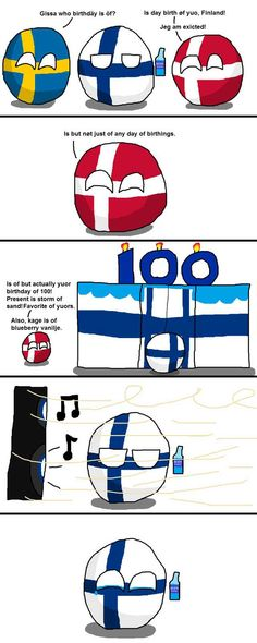 Norway gave a mountain to finland in b-day gift beat that Funny Cartoons, Funny Jokes, Memes Humor, Funny Tweets, Funny Images, Funny Pictures, Best B, Poses For Photos, Country Art