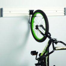 VersaTrack wall of hooks/ bike hanging system