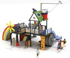 Plans for The Natural Energy Park for children - Educational