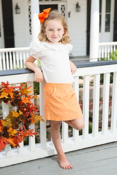 Cute for fall holidays and football games!