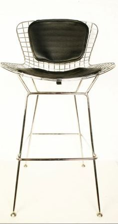 New York: Bertoia Reproduction Bar Stool with Seat and Back Pad $60 - http://furnishlyst.com/listings/396537