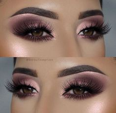 Gorgeous Chic Smokey Eye Makeup Ideas That Looks Great ! wunderschöne schicke smokey eye make-up-ideen, die toll aussehen Gorgeous Chic Smokey Eye Makeup Ideas That Looks Great ! Eyeliner, Smokey Eyeshadow, Smokey Eye Makeup, Eyeshadow Makeup, Smoky Eye, Pink Eyeshadow, Plum Makeup, Pink Smokey Eye, Maybelline Eyeshadow