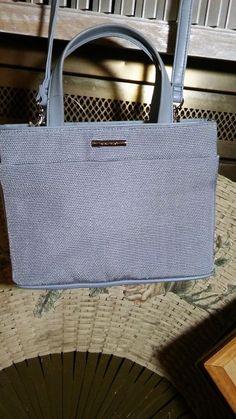NINE WEST Cloth Hand Bag Purse Pocket Book Lavender NWT #NineWest #ShoulderBag
