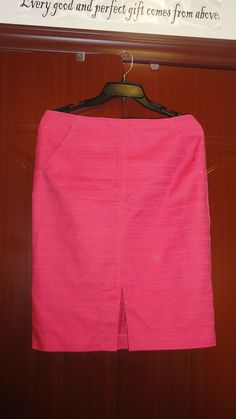 08ee8aed6 W@W Hot Pink Ann Taylor Loft Pencil Skirt!! Size 8 #fashion