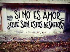 Si no es amor <3