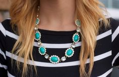 GroopDealz | STUNNING Pave crystal statement necklace