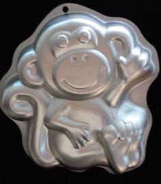 Details about Wilton Sesame Street Elmo Cake Pan Jello Mold