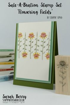 Sarah Berry Stampin' Up! UK Demonstrator William Morris inspired card for Sale-A-Bration Farewell 2016 Cards For Friends, William Morris, Card Sketches, Scrapbook Cards, Scrapbooking, Paper Cards, Stamping Up, Flower Cards, Cool Cards