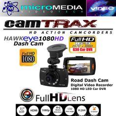 CamTRAX Car Dash Cam 1080 HD DVR Road Video Camera LED Screen Mount Kit   #CamTRAX